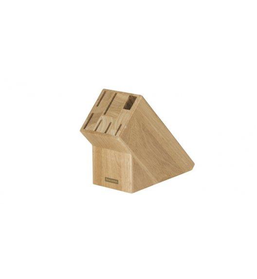 Drewniany blok na 6 noży i ostrzałkę Tescoma Woody.
