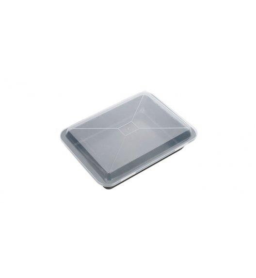 Blacha do pieczenia głęboka + pokrywka Tescoma powłoka antyadhezyjna 36 x 25 cm.