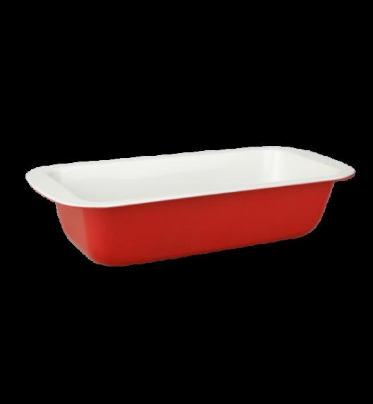 TADAR foremka ceramiczna keksówka z silikonowymi uchwytami 29,5 x 13 x 6 cm.