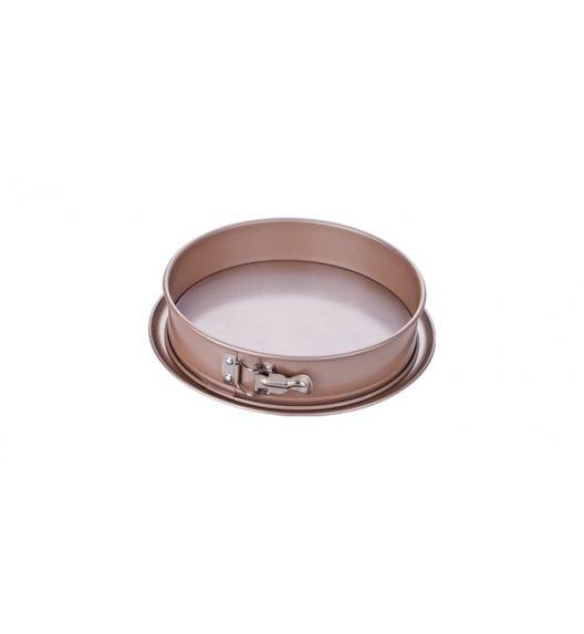 Tortownica rozkładana Tescoma Delicia Gold okrągła 26 cm - powłoka antyadhezyjna.