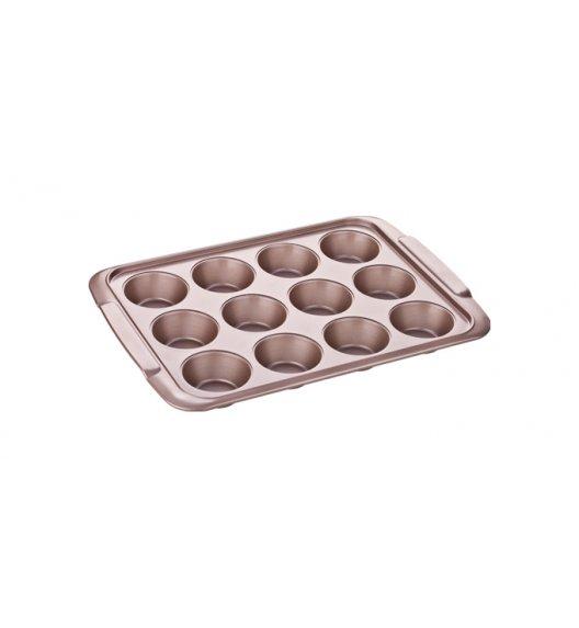 Forma na muffinki 12 porcji Tescoma Delicia Gold - powłoka antyadhezyjna.