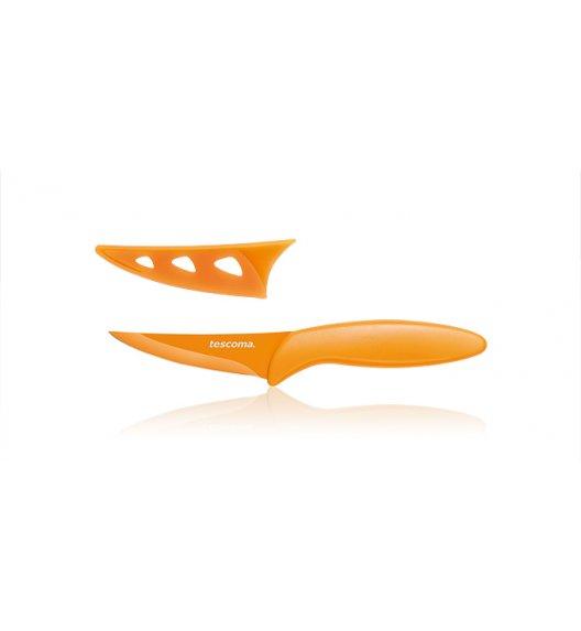 Nóż kuchenny uniwersalny Non-Stick Tescoma Presto Tone 8 cm pomarańczowy.
