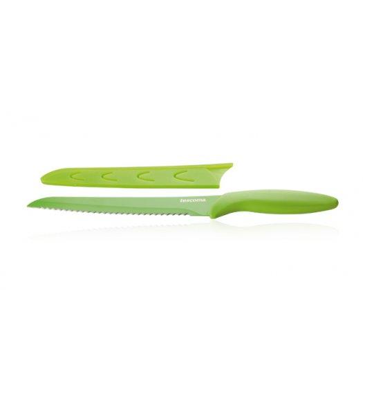 Nóż kuchenny do chleba Non-Stick Tescoma Presto Tone 20 cm zielony.