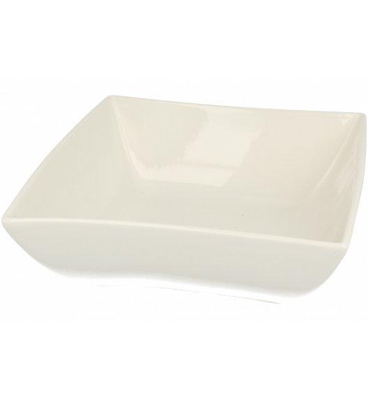 Salaterka 24 cm Duo WHITE wyroby porcelanowe.