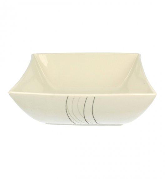 Salaterka 24 cm Duo FALA wyroby porcelanowe.