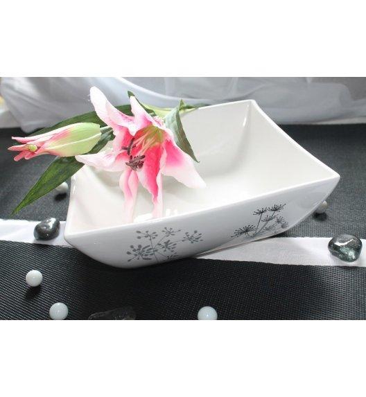 Salaterka 24 cm Duo FINO wyroby porcelanowe.