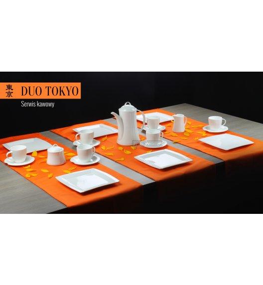 WYPRZEDAŻ! Serwis kawowy 12 os/42 el Duo TOKIO wyroby porcelanowe.