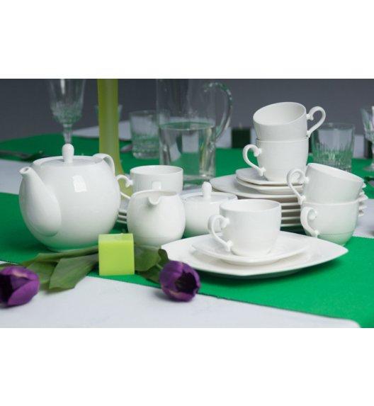 WYPRZEDAŻ! Serwis kawowy 6 os/21 el Duo KIOTO wyroby porcelanowe.