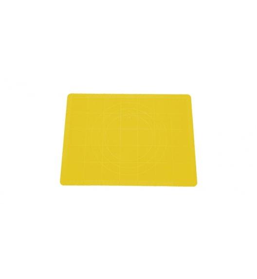 Stolnica silikonowa Tescoma Delicia 38x28 cm żółta.