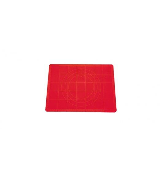 Stolnica silikonowa Tescoma Delicia 38x28 cm czerwona.