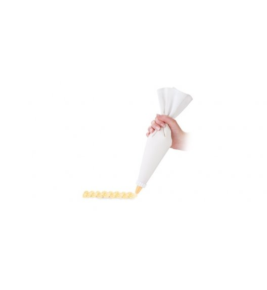 TESCOMA DELICIA Podwójny rękaw cukierniczy, płócienny 35 cm + 6 dysz - ZOBACZ FILM.
