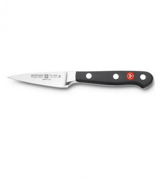 WUSTHOF CLASSIC Nóż obierak, szpic do warzyw i owoców 7 cm. Stal wysokowęglowa / megap