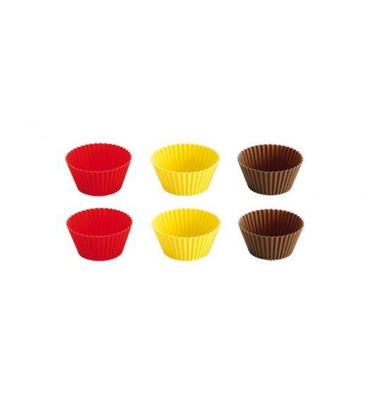 TESCOMA DELICIA Foremki silikonowe kolorowe, 7 cm,  630646