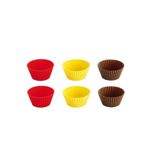 TESCOMA DELICIA Foremki silikonowe kolorowe, 9 cm,  630648