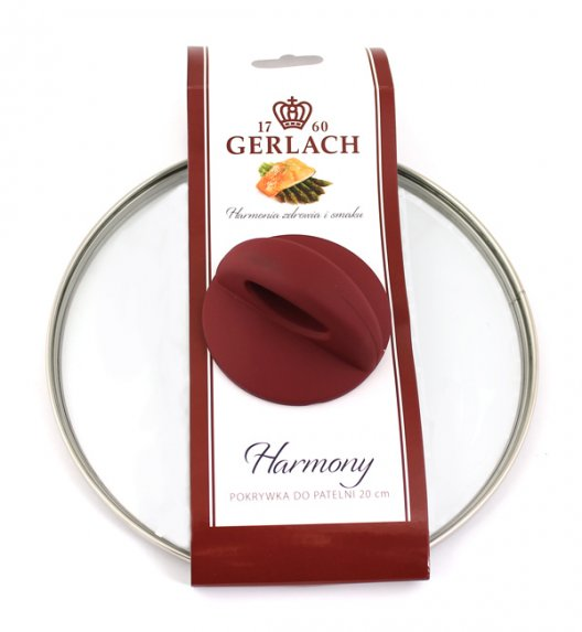 WYPRZEDAŻ! Pokrywka patelnia ceramiczna Gerlach Harmony o średnicy 20 cm