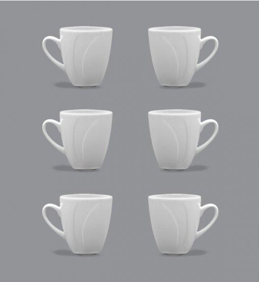 LUBIANA CELEBRATION Komplet Kubki 300 ml / 6 el / 6 os / porcelana