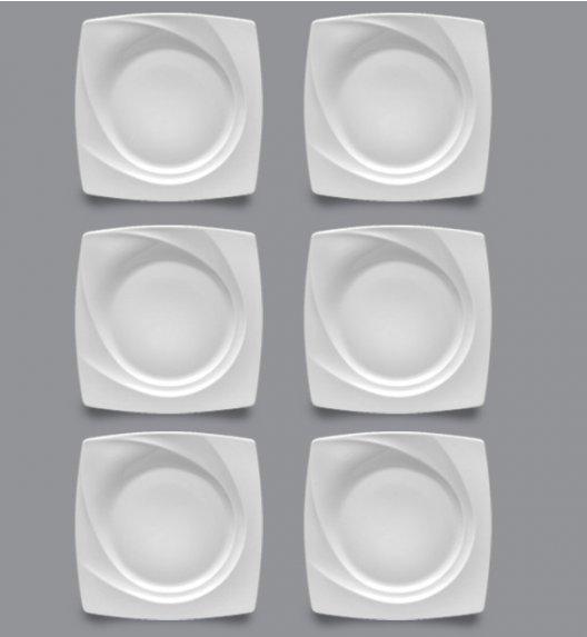 LUBIANA CELEBRATION Komplet Talerze obiadowe 27,5 cm / 6 el / 6 os / porcelana