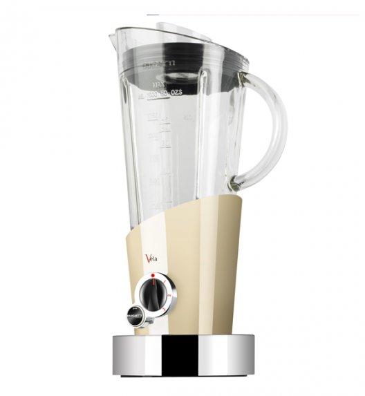 BUGATTI Blender VELA kremowy. Wysoka jakość - Italy design