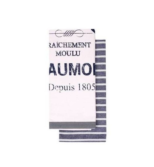 LADELLE BEAUMONT GRANAT Zestaw ściereczek kuchennych 45 x 70 cm, 2 sztuki. DESIGNED IN AUSTRALIA / Btrzy
