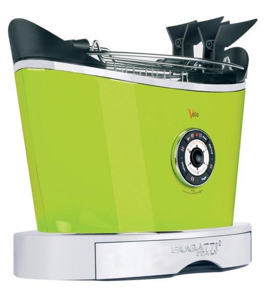 BUGATTI Toster VOLO zielony. Wysoka jakość - Italy design
