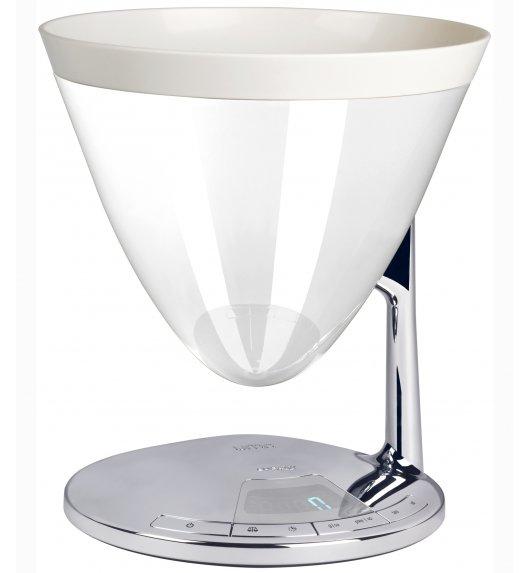 BUGATTI UMA elektroniczna waga - biała. Wysoka jakość - Italy design