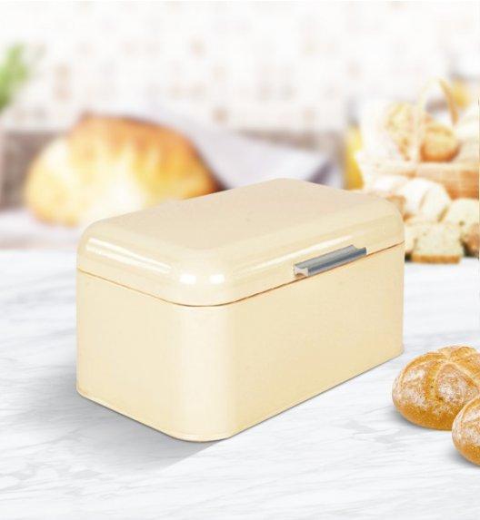 ODELO Żółty chlebak 30 x 20 cm / Stal nierdzewna / OD1268Y