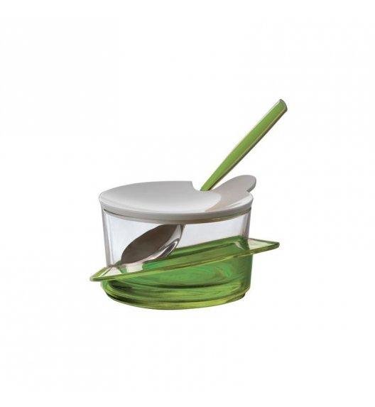 BUGATTI GLAMOUR Cukiernica z lyżeczką, solidnie wykonana, nowoczesny design ZIELONY