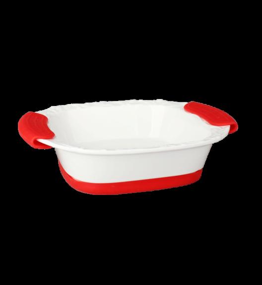 TADAR Naczynie do zapiekania z silikonowymi rączkami 1,9 L / ceramika