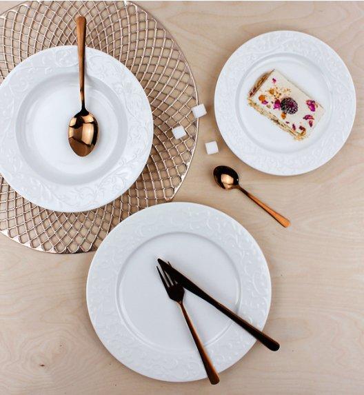 DUO HEMINGWAY Komplet obiadowy 18 el / 6 osób / porcelana