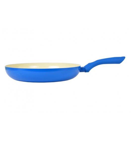 ODELO Niebieska patelnia ceramiczna 30 cm / indukcja / OD1190B