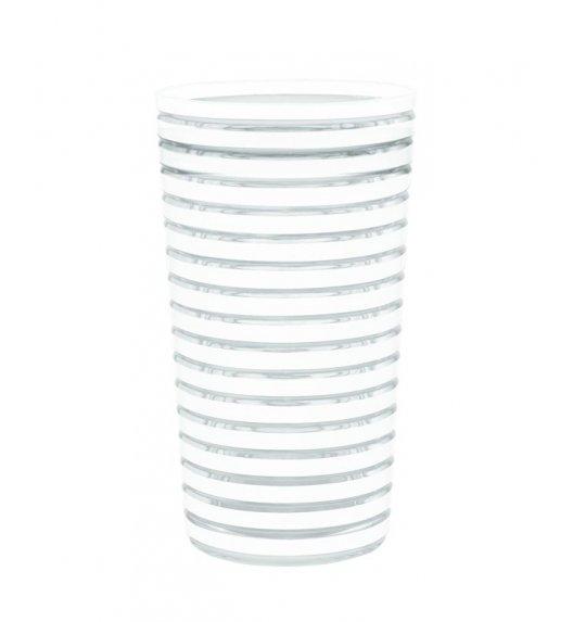 ZAK! DESIGNS SWIRL Kubek na zimne napoje, biały, 360 ml /Btrzy