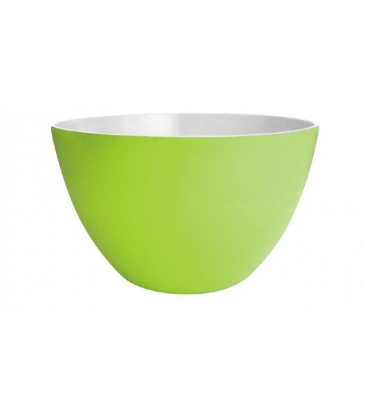 ZAK! DESIGNS Miska dwukolorowa, zielono-biała, 18 cm /Btrzy