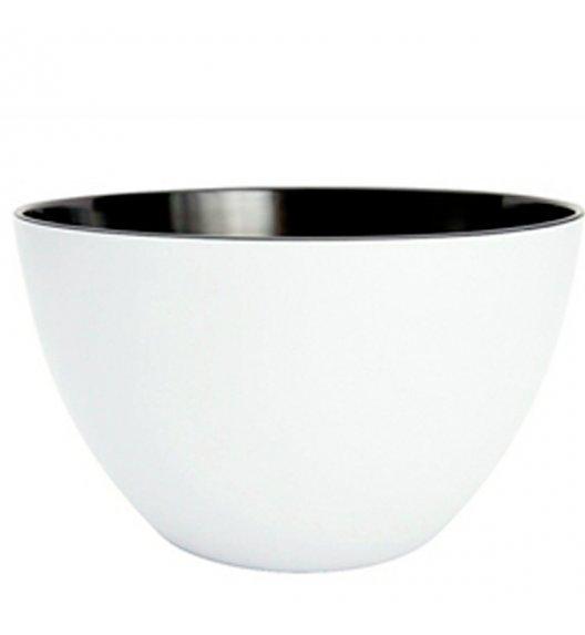 ZAK! DESIGNS Miska dwukolorowa, biało-czarna, 28 cm /Btrzy