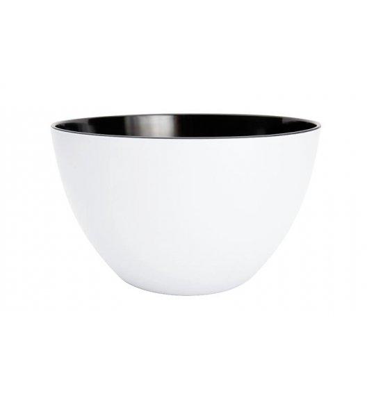 ZAK! DESIGNS Miska dwukolorowa, biało-czarna, 18 cm /Btrzy