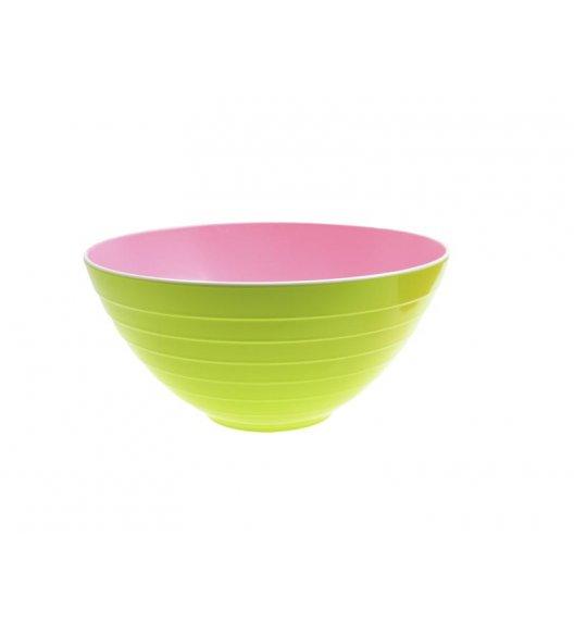 ZAK! DESIGNS Miska dwukolorowa, zielono-różowa, 25 cm /Btrzy