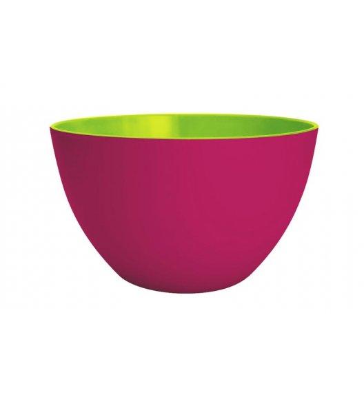 ZAK! DESIGNS Miska dwukolorowa, różowo-zielona, 22 cm, /Btrzy