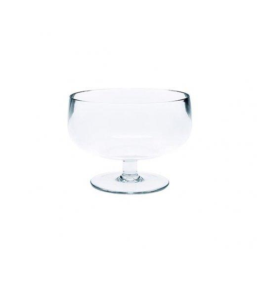 ZAK! DESIGNS Puchar do serwowania lodów i deserów, imitujący grube szkło, przeźroczysty /Btrzy