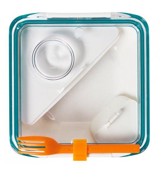 BLACK+BLUM BOX APPETIT Pojemnik na lunch, biało/niebieski. Btrzy
