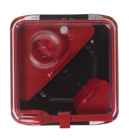 BLACK+BLUM BOX APPETIT Pojemnik na lunch, czarno/czerwony. Btrzy