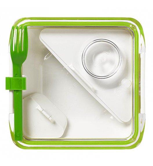 BLACK+BLUM BOX APPETIT Pojemnik na lunch, zielono/biały. Btrzy