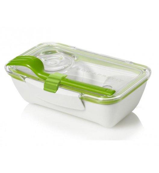 BLACK+BLUM BENTO BOX Pojemnik na lunch, biało/zielony. Btrzy