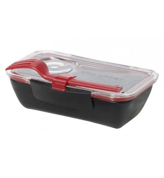 BLACK+BLUM BENTO BOX Pojemnik na lunch, czarno/czerwony. Btrzy