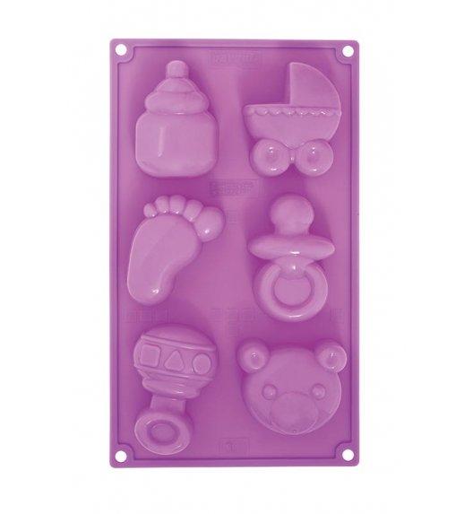 PAVONIDEA BABY BIRTH silikonowa foremka, 6 wzorów /Btrzy