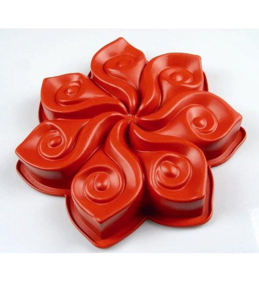 PAVONIDEA CALLA silikonowa forma do ciasta, czerwona /Btrzy