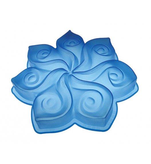 PAVONIDEA CALLA silikonowa forma do ciasta, niebieska /Btrzy