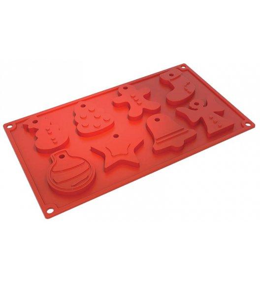 PAVONIDEA COOKIES silikonowa foremka, świąteczne ciasteczka, 8 wzorów /Btrzy