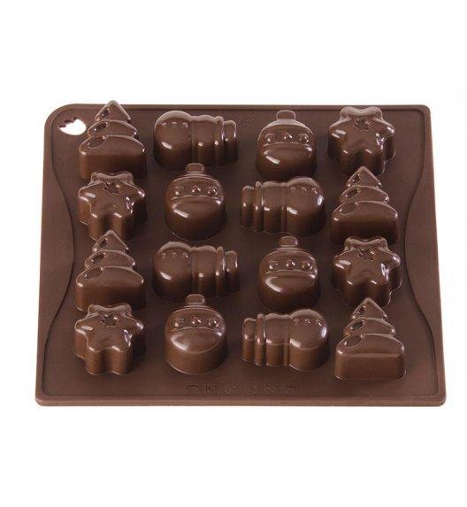 PAVONIDEA CHRISTMAS forma na czekoladowe pralinki, 16 wzorów /Btrzy