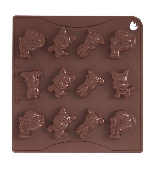 PAVONIDEA DOGGY forma na czekoladowe pralinki, 12 wzorów /Btrzy