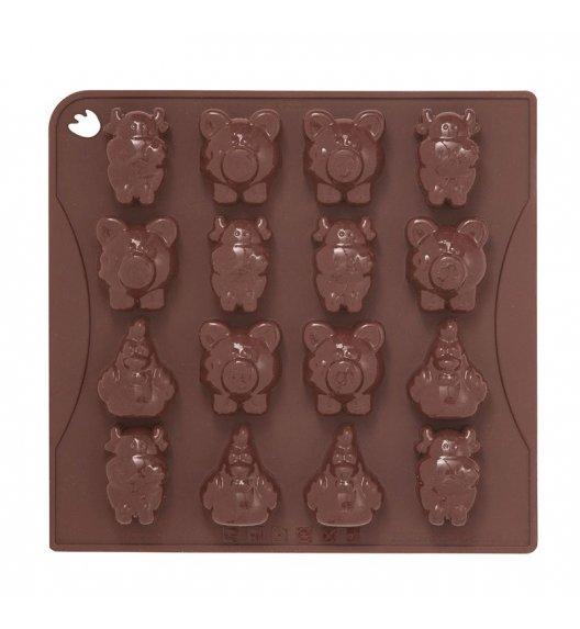 PAVONIDEA FARM forma na czekoladowe pralinki, 16 wzorów /Btrzy