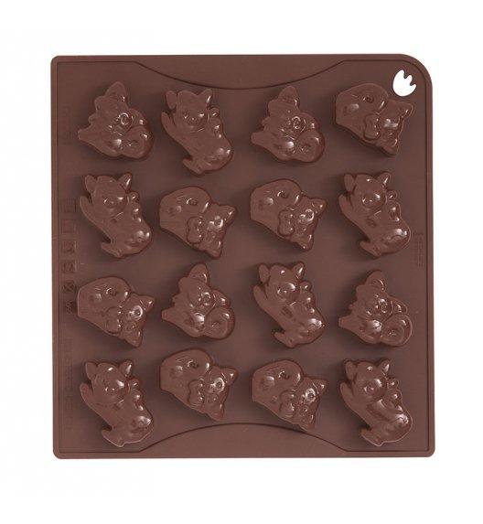 PAVONIDEA KITTY forma na czekoladowe pralinki, 16 wzorów /Btrzy